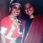 Madhawie samen met inspirerende politicus Tanja Jadnanansing